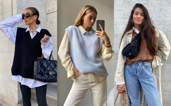 Трикотажный жилет стал модным хитом осени 2020: как выбрать и с чем их носить | Караван