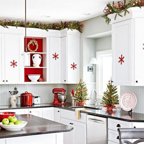 Лучшие идеи по украшению кухни и других комнат дома к Новому году