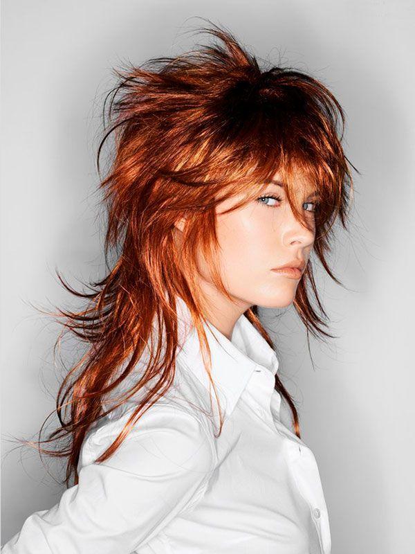 Стрижка гаврош или прическа маллет на средние и длинные волосы - как стричь - Стрижки средней длины - Стрижки - Каталог … | Прически, Стрижка, Стрижка средней длины