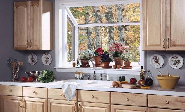 """Картинки по запросу """"угловая кухня с мойкой у окна"""""""