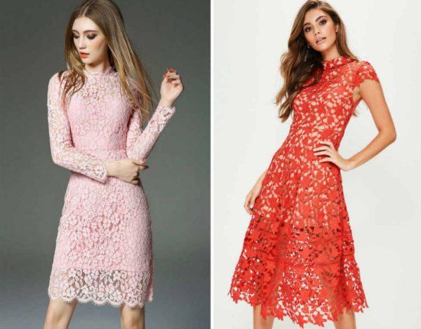 Кружевные платья. Как выбрать?