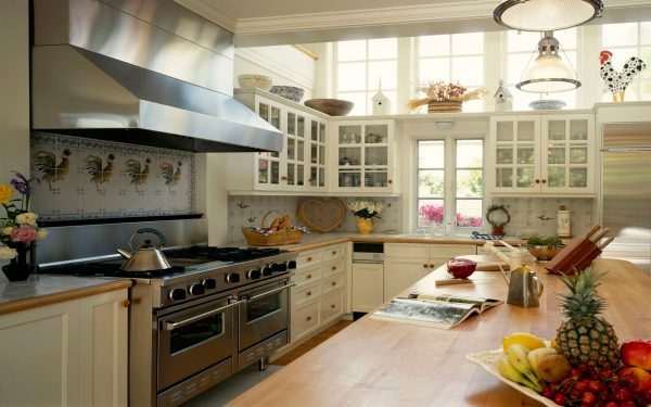 Дизайн и интерьер современной кухни фото