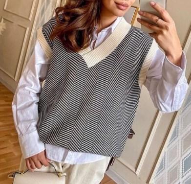 Мода зима 2021 – в моде великолепные теплые жилеты оверсайз – фото - Главред