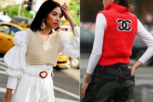С чем носить жилет: обзор модных новинок, образы и фото 2020