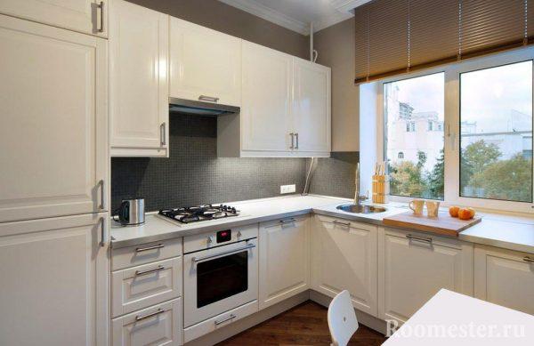 """Картинки по запросу """"окно в стильном дизайне кухни"""""""