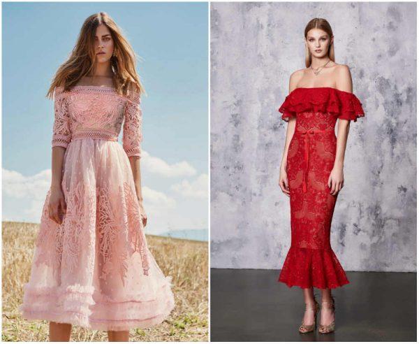 Модные кружевные платья: 100+ тенденций, новинок, цветов и фасонов