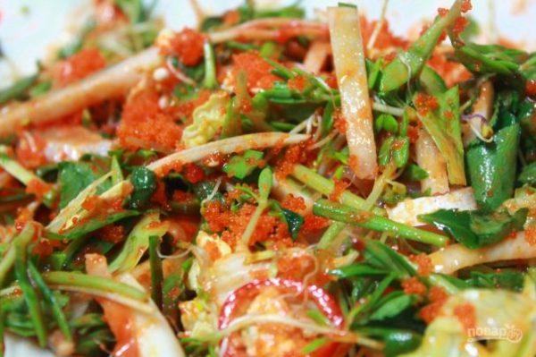 Хе из рыбы по-корейски - пошаговый рецепт с фото