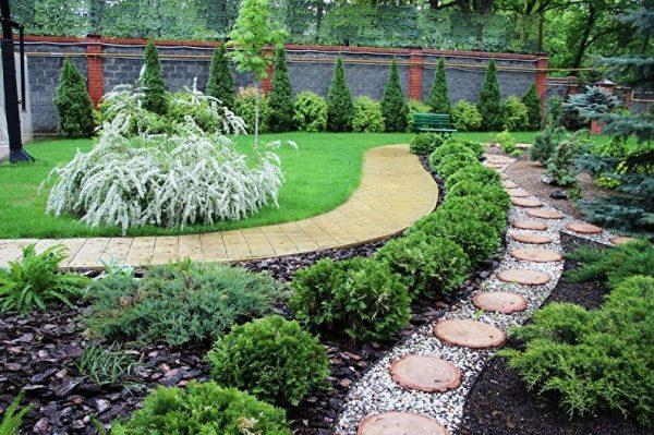Ландшафтный дизайн дачного участка: 85 фото, красивые идеи для дачи и сада