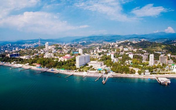 В Черном море возле Сочи возведут искусственный остров
