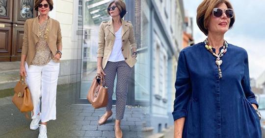 14 интересных идей как красиво одеться летом женщинам 50+