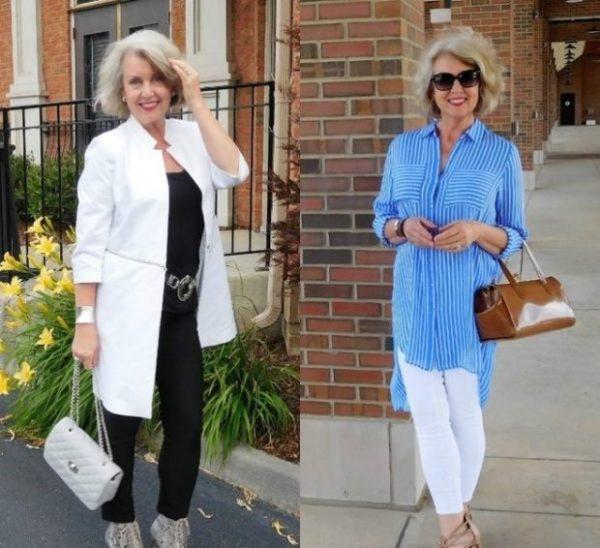 New! Мода весна лето 2021 для женщин после 50 97 фото
