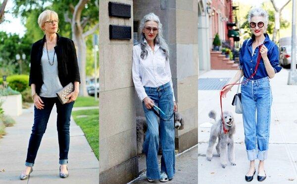 Современная бабушка: 7 стильных и удобных образов   Женские страсти