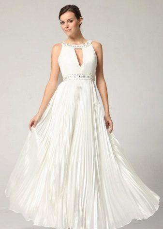 Вечернее платье в греческом стиле с плиссировкой | Платье в греческом стиле, Платья, Вечерние платья